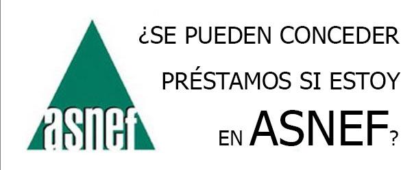 crédito asnef