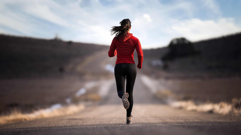 correr largas distancias