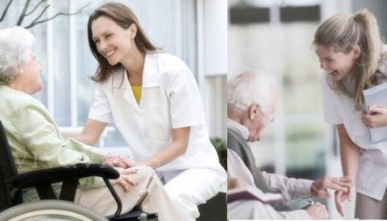 cuidadoras de ancianos
