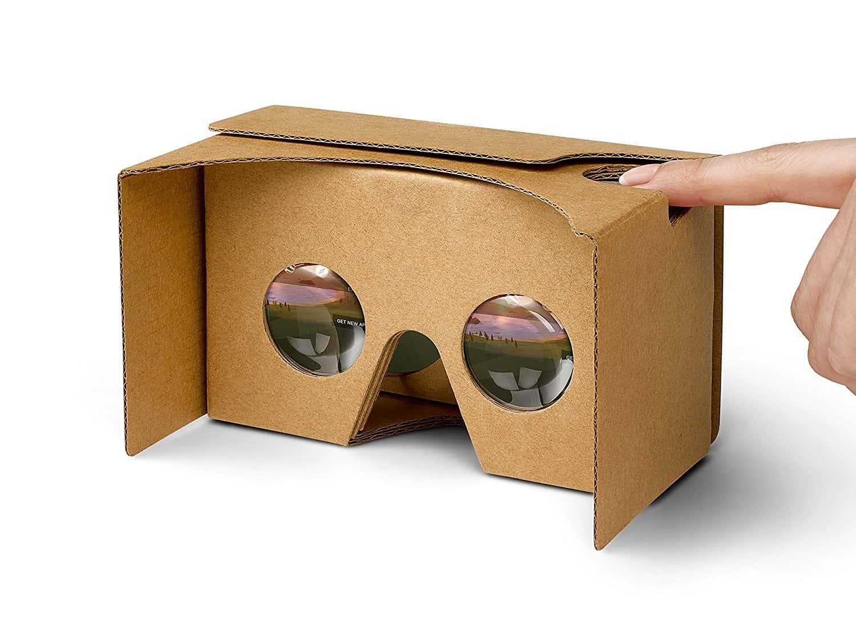 El gran paso de la tecnología del siglo XXI: las gafas cardboard