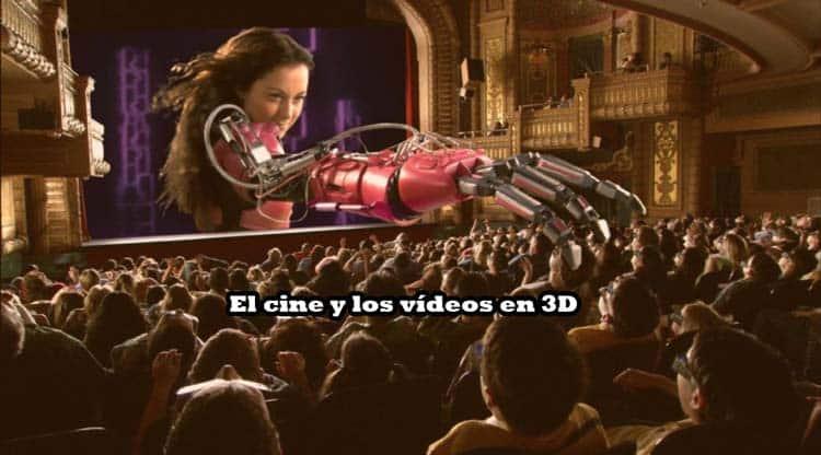 El cine y los vídeos en 3D