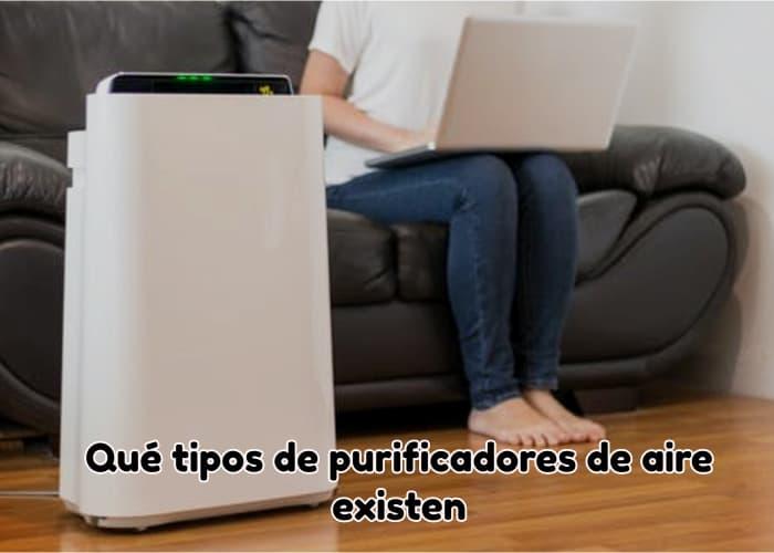 Qué tipos de purificadores de aire existen